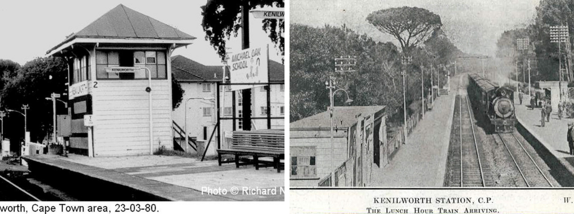 Did you know that the station at Kenilworth was originally a simple shed and that not everyone thought that a railway line to Wynberg was a necessity? Here's a little history of the line, the trains and the stations.