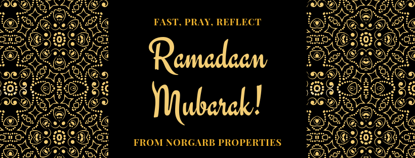 Norgarb Properties wishes all Muslim readers & neighbours, a Blessed Ramadaan